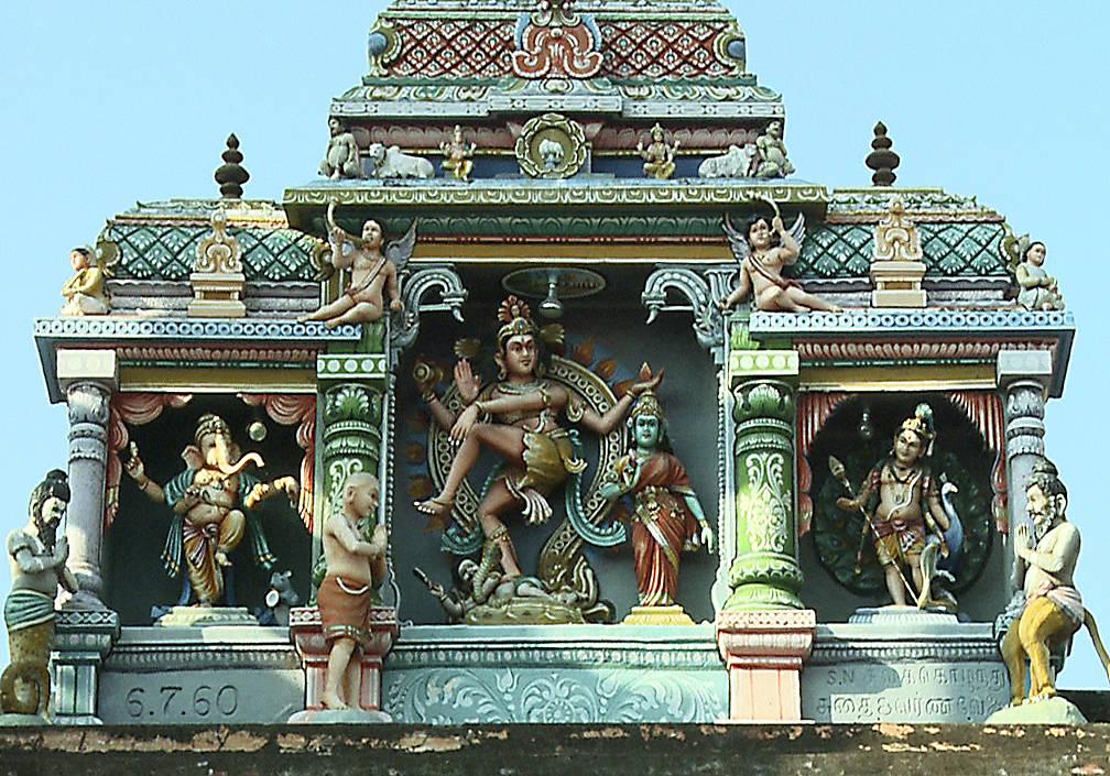 """Tanzveranstaltung: Tanzfestival """"Natyanjali"""", in Karur, Süd-Indien, 7. Januar 2012"""